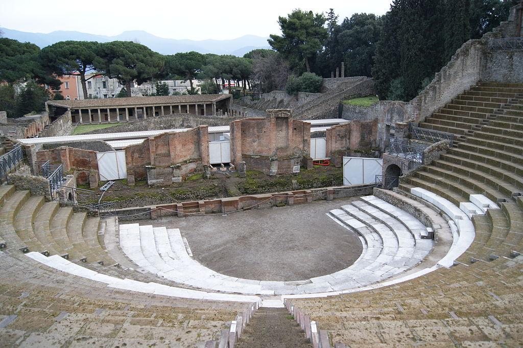 grande teatro pompei