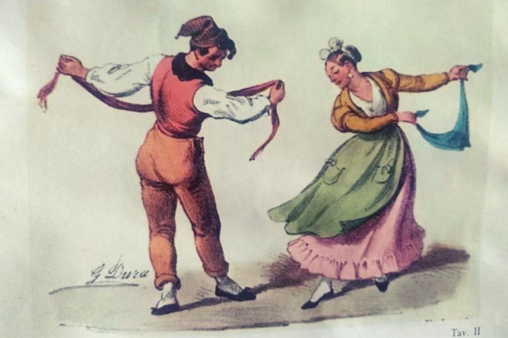 ballo della tarantella