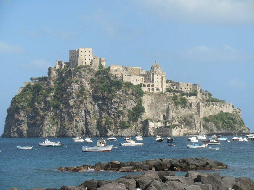 castello aragonese ischia foto
