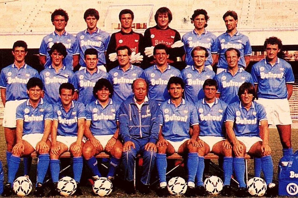 napoli campione d'italia 1987