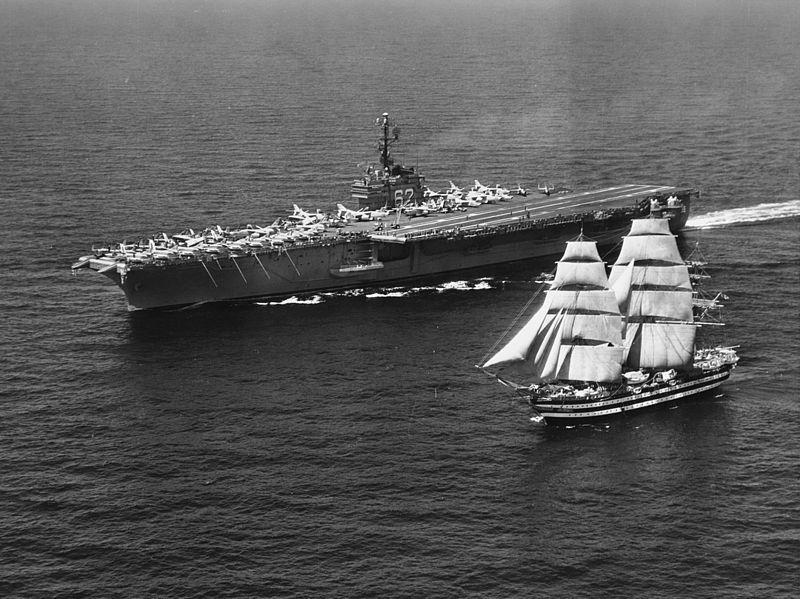 nave amerigo vespucci foto d'epoca
