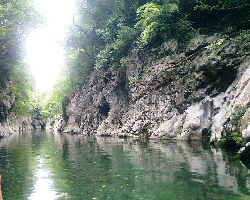 fiume calore foto